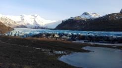 Jeden z mnohých ľadovcov, v tomto údolí sa natočilo už množstvo filmov