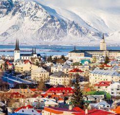 Reykjavík-hlavné mesto Islandu