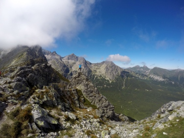Hike from Skalnate Pleso to the Green Lake