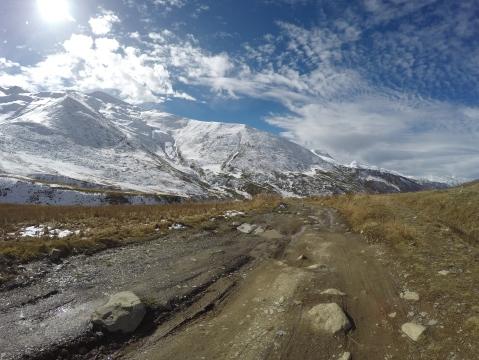 Horska cyklocesta, oktober 2016