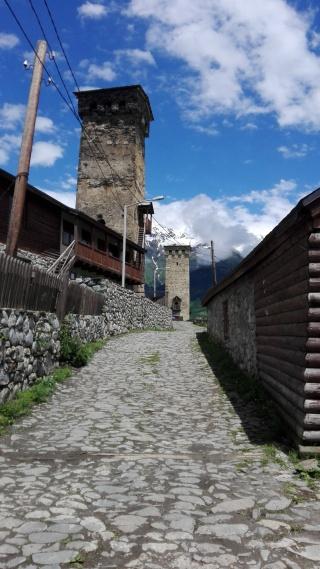 Ulicka v horskom mestecku