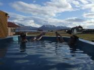 Po skialpe zasluzeny odpocinok v geotermalnej horucej vode